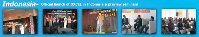 Indonesia OXCEL launch